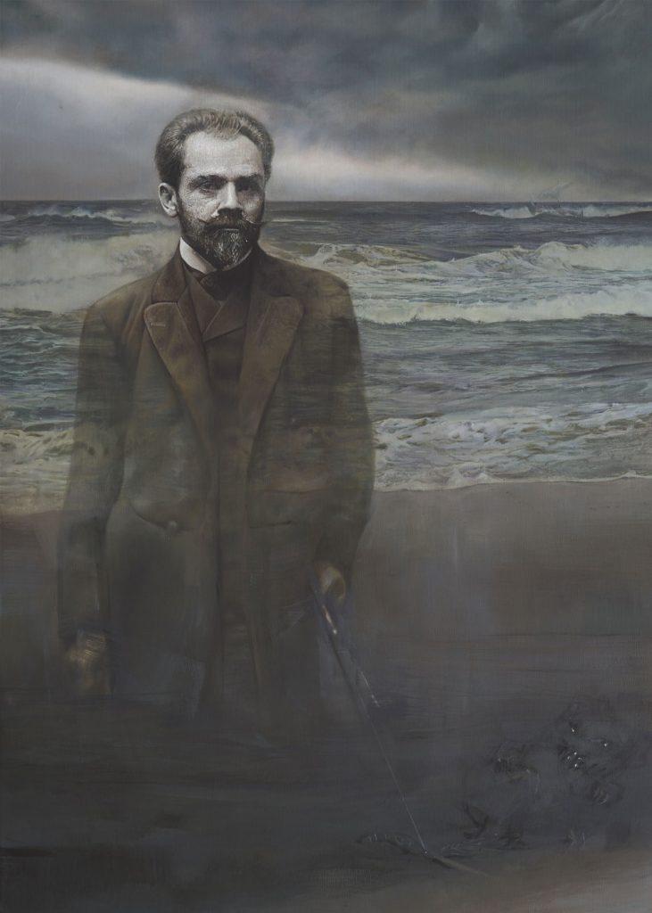 Anna Wypych, /Portret Stefana Żeromskiego/, nrinw.: MNG/SW/2324/MR, wzbiorach Muzeum Narodowego wGdańsku